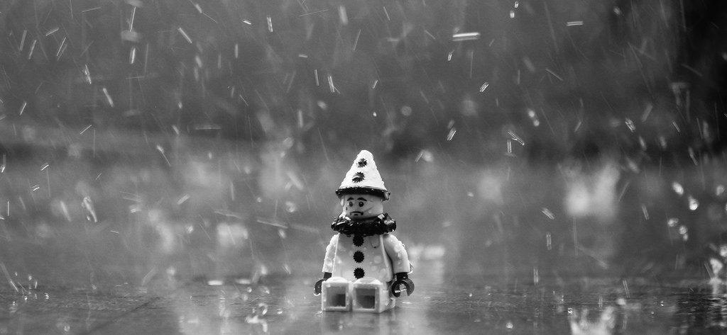 pupazzo pioggia