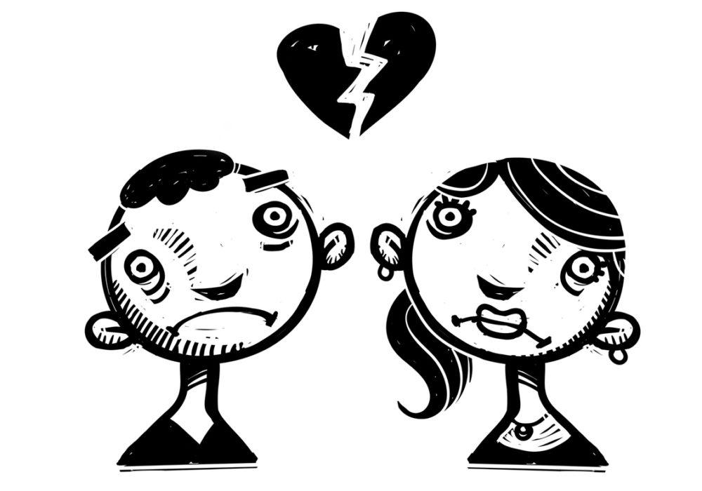 Come la rottura di una relazione cambia la personalità