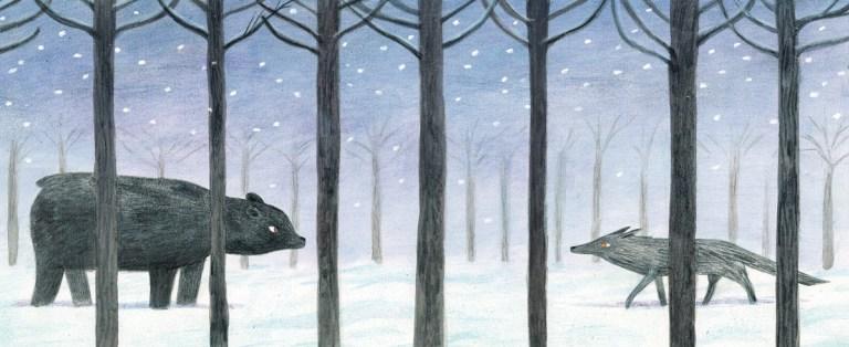 L'orso e il lupo: Un racconto infantile illustrato