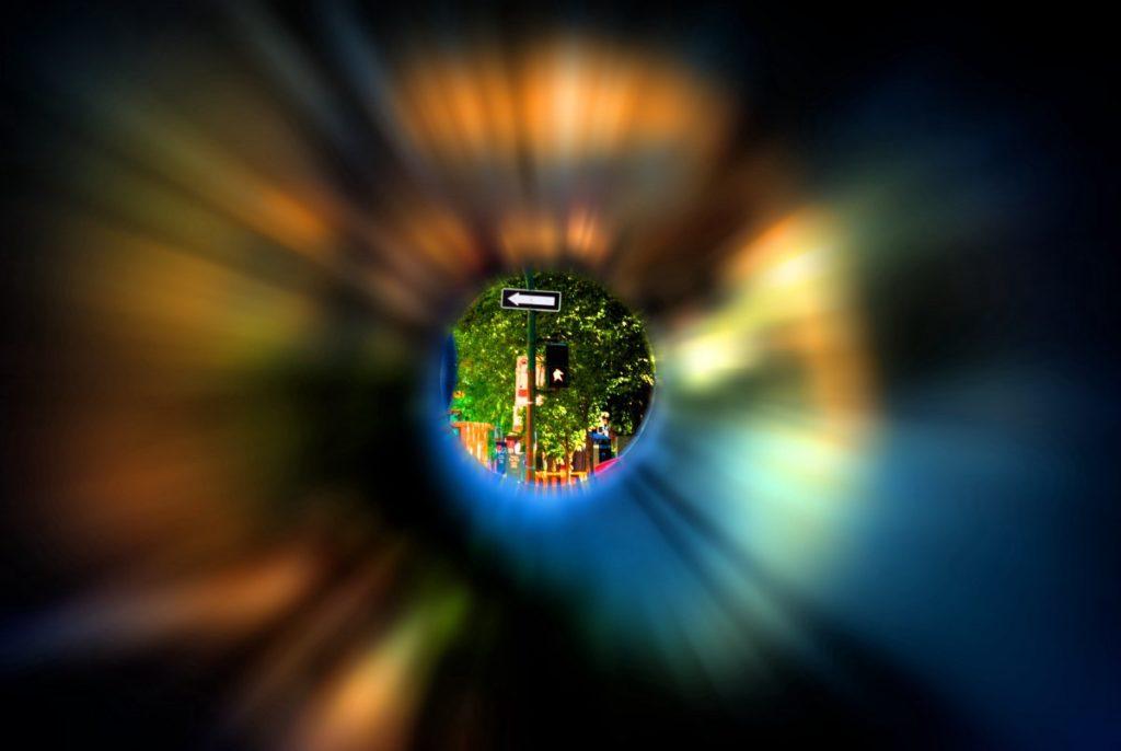 visione a tunnel