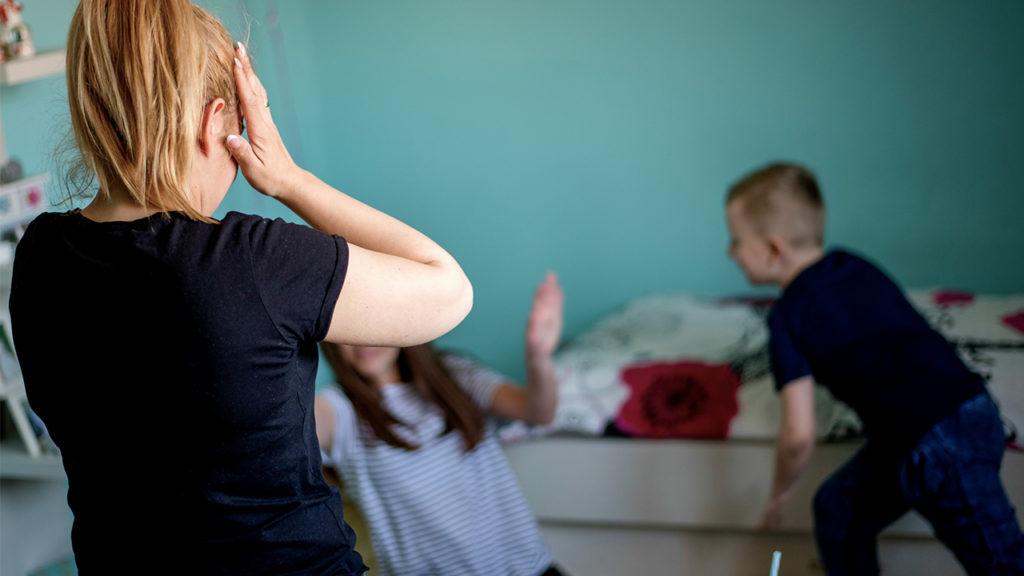 perdere la pazienza con i figli